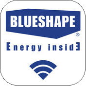 Download the Blueshape App from the store